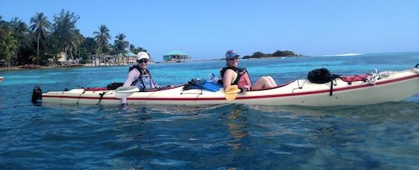 Kayaking and Snorkeling Belize