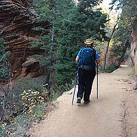 Narrows Trail in Zion NP